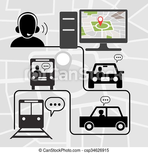Transportation Symbols - csp34626915