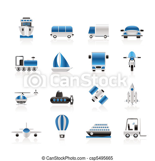Transportation, travel and shipment - csp5495665