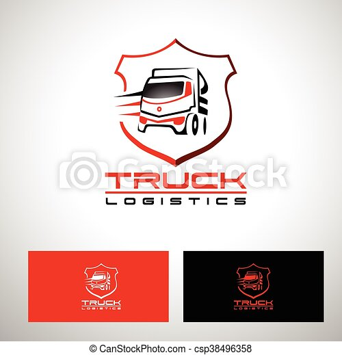 transportation truck logo vector design truck trailer logo rh canstockphoto com truck logos and lettering truck logos designs