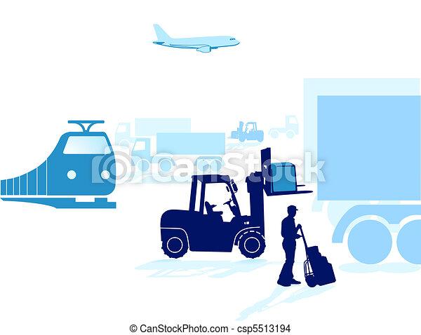 transporte, despacho - csp5513194