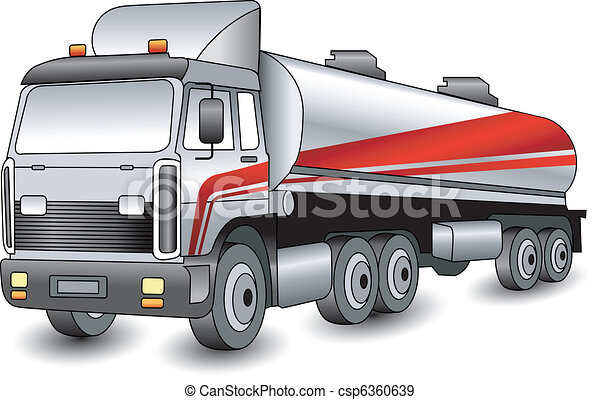 transporte, gasolina - csp6360639