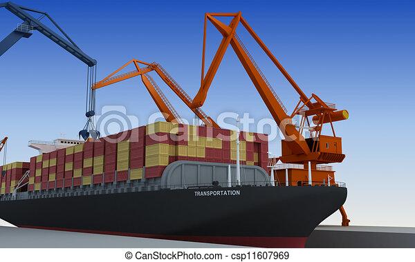 transporte - csp11607969