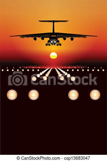 transportflugzeug - csp13683047
