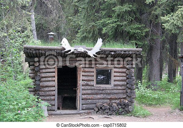 Trapper 39 s alaska cabina for Cabina remota alaska