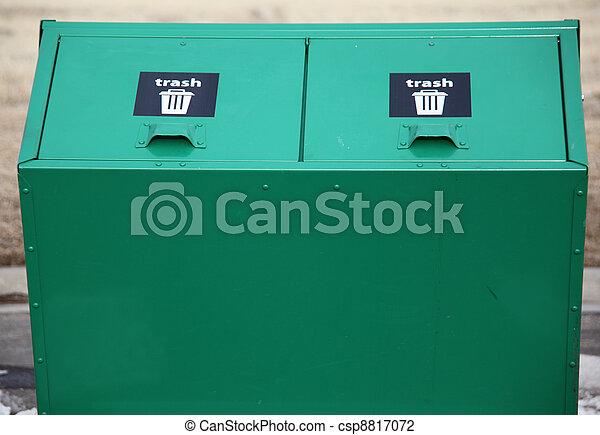 Trash bin. - csp8817072