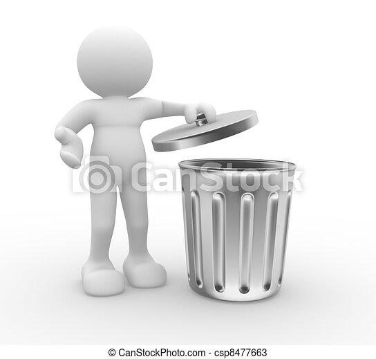 Trash can - csp8477663