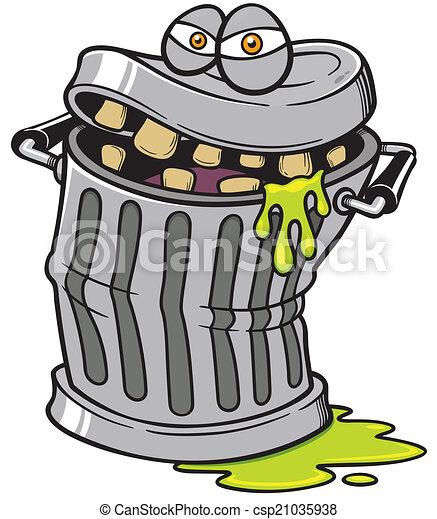 Trash can - csp21035938