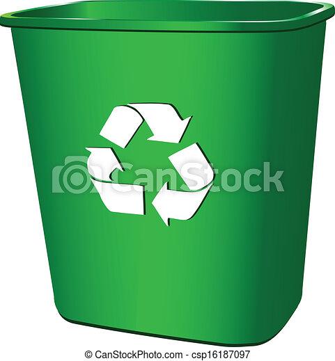 Trash container - csp16187097
