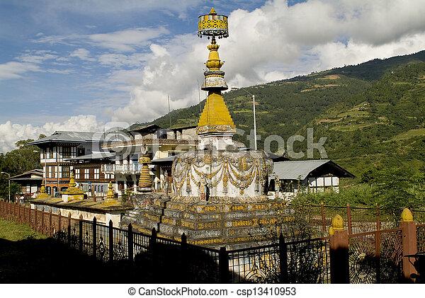 trashigang, bhutan - csp13410953