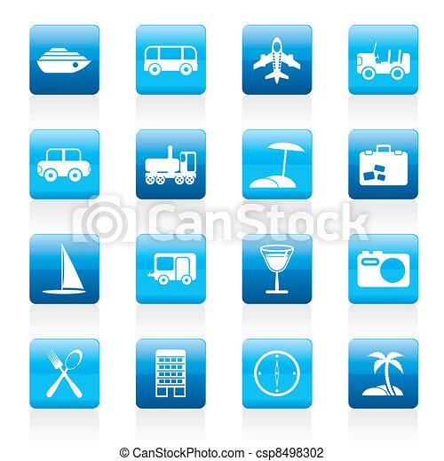trasporto, viaggiare, turismo - csp8498302