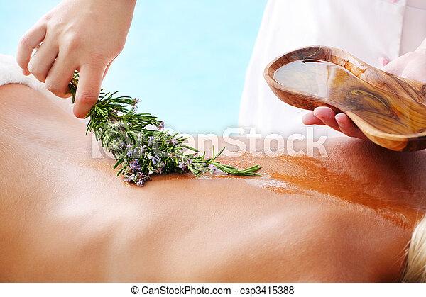 tratamento spa - csp3415388