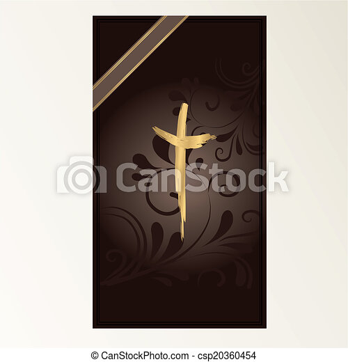 Trauerkarte - csp20360454