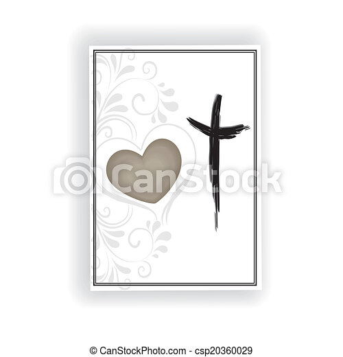 Trauerkarte - csp20360029