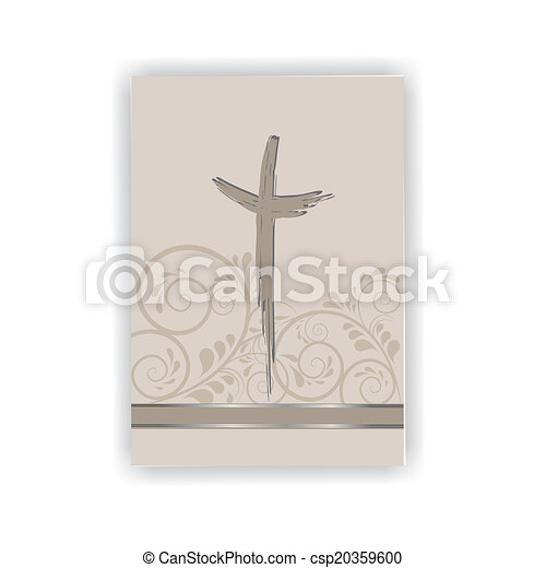 Trauerkarte - csp20359600