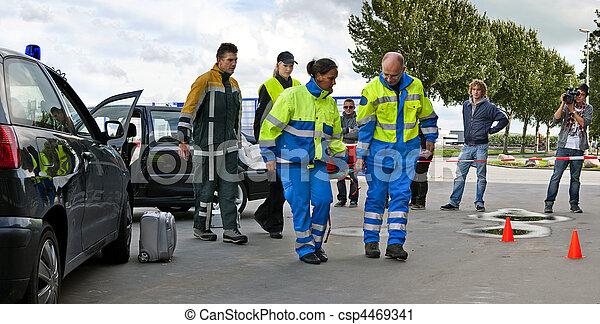 trauma, equipo - csp4469341