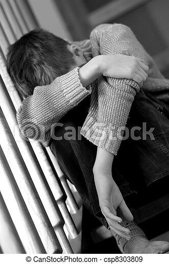 Traurigkeit - csp8303809