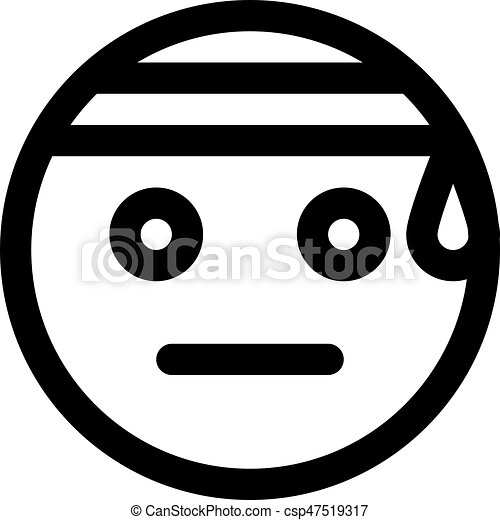 travail dur emoji csp47519317 - Dessin Emoji