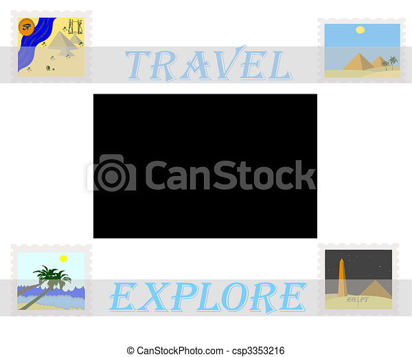 travel africa  - csp3353216
