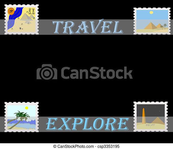 travel africa  - csp3353195