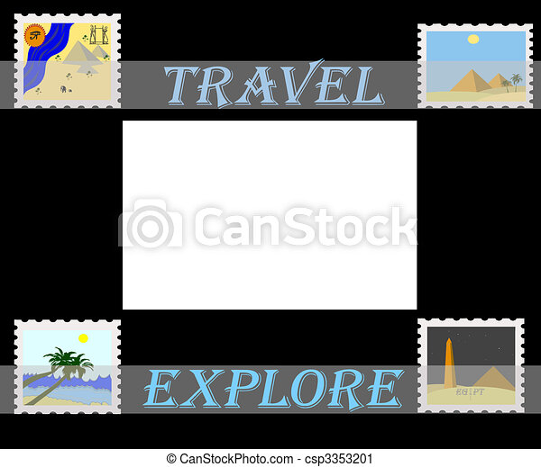 travel africa  - csp3353201