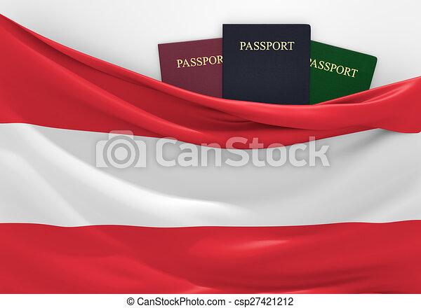 Travel and tourism in Austria - csp27421212