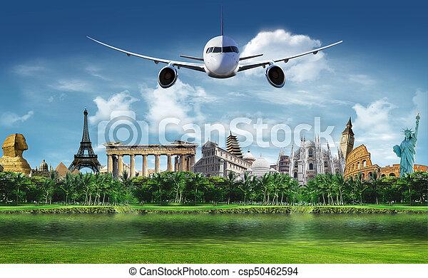 Travel around the world - csp50462594