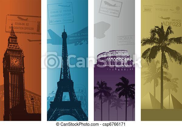 travel background - csp6766171