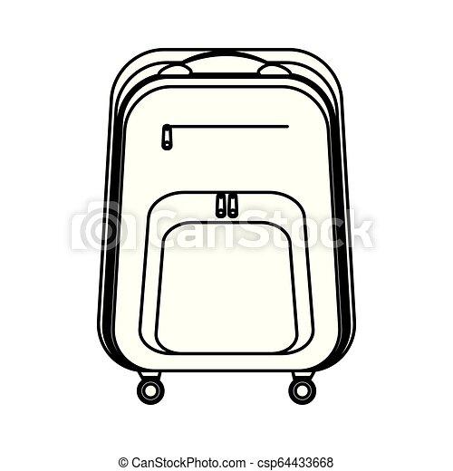 travel bag icon - csp64433668