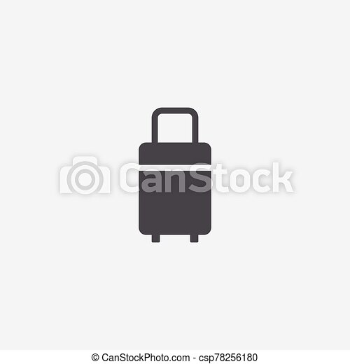 travel bag icon - csp78256180
