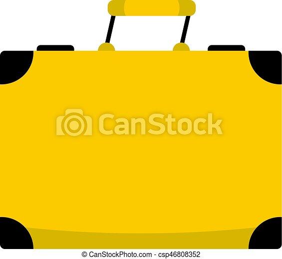 Travel bag icon isolated - csp46808352