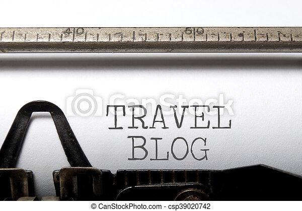 Travel blog - csp39020742