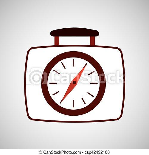 travel concept compass location gps - csp42432188