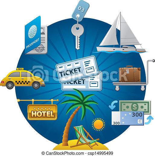 travel concept icon - csp14995499