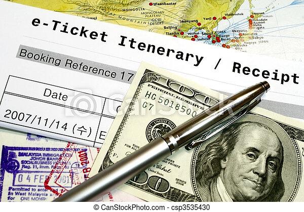 Travel Documents - csp3535430