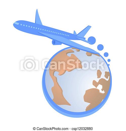 Travel fly - csp12032880