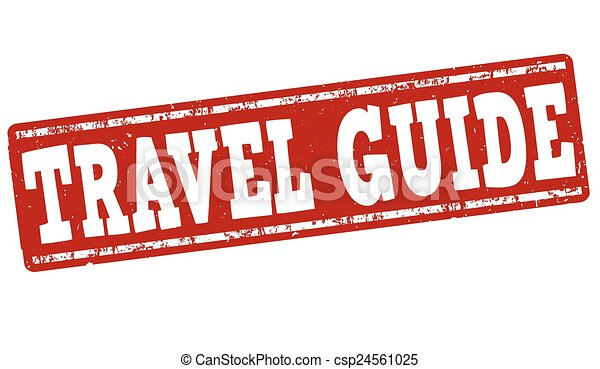Travel guide stamp - csp24561025