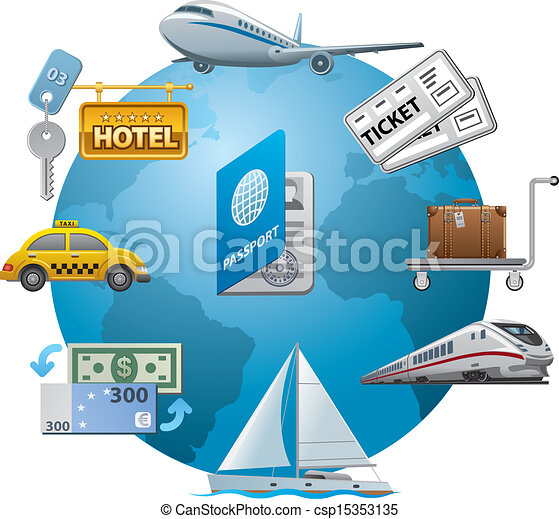 travel icon concept - csp15353135