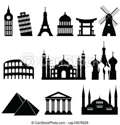 Travel landmarks and monuments - csp10676526
