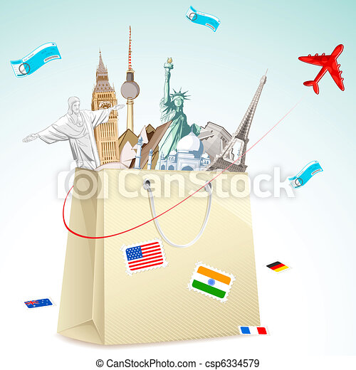 Travel package - csp6334579