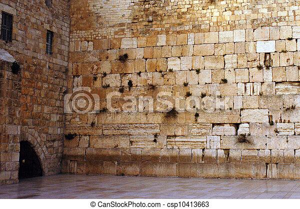 Travel Photos of Israel - Jerusalem Western Wall - csp10413663