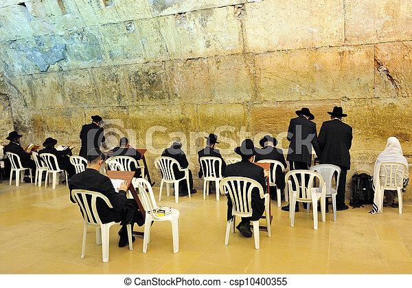 Travel Photos of Israel - Jerusalem Western Wall - csp10400355