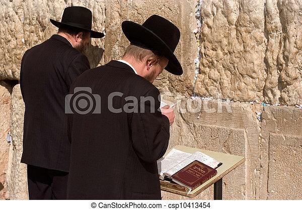 Travel Photos of Israel - Jerusalem Western Wall - csp10413454