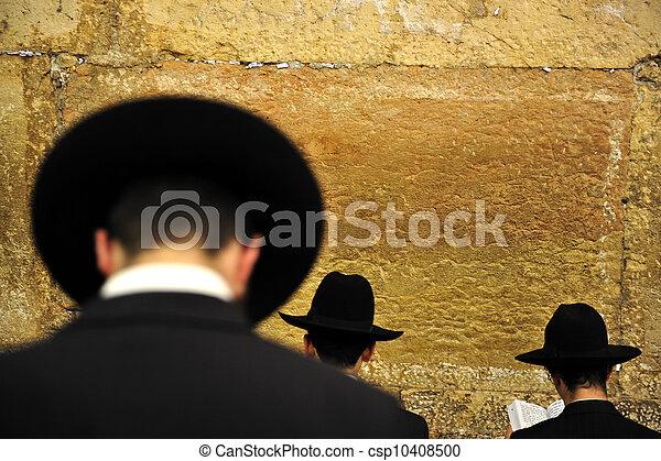 Travel Photos of Israel - Jerusalem Western Wall - csp10408500