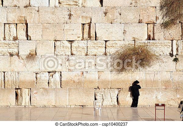 Travel Photos of Israel - Jerusalem Western Wall - csp10400237
