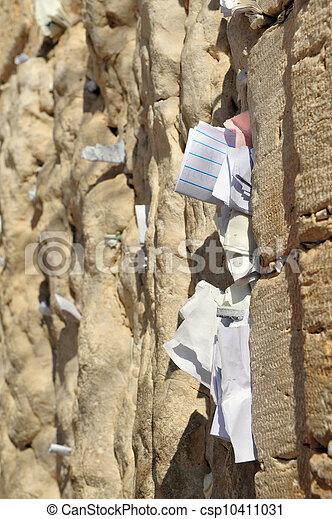 Travel Photos of Israel - Jerusalem Western Wall - csp10411031