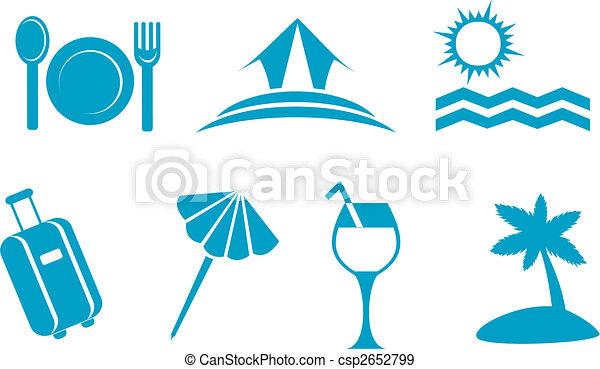 Travel symbols - csp2652799