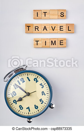 Travel time concept. - csp88973335