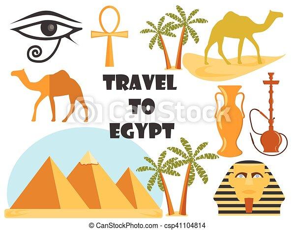 Travel To Egypt Symbols Of Egypt Tourism And Adventure
