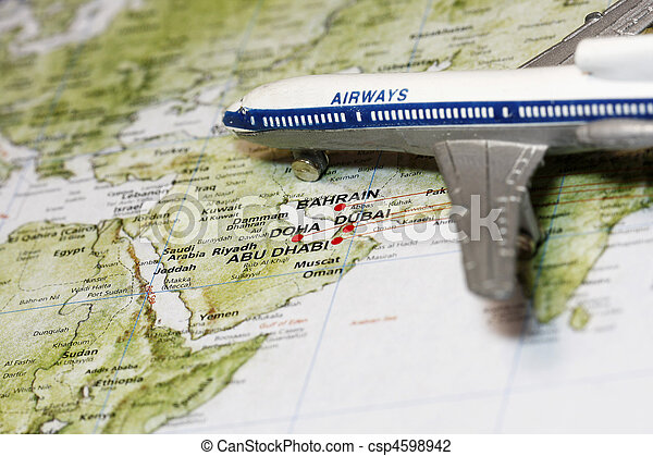 Travel to Middle East - csp4598942