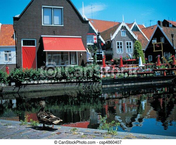 Travel to Netherlands - csp4860407